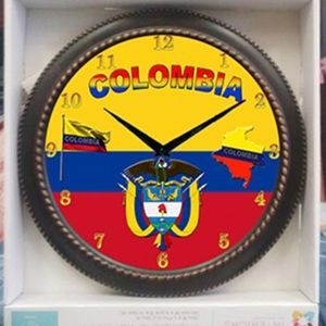 Other - Colombia Wall clock
